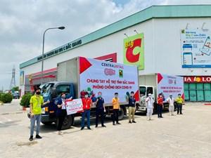 Tiếp sức cho tuyến đầu chống dịch Covid-19 ở Bắc Giang và Vĩnh Phúc