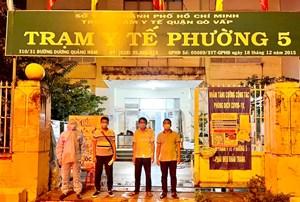 TP. Hồ Chí Minh: VKBIA và 'Saigon Share' chung tay  phòng chống dịch