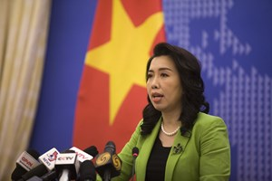Việt Nam phản ứng mạnh mẽ trước việc Trung Quốc tập trận ở Hoàng Sa