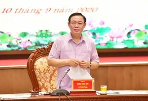 Đưa Hà Nội đạt mức tăng trưởng cao gấp 1,3 lần bình quân chung cả nước