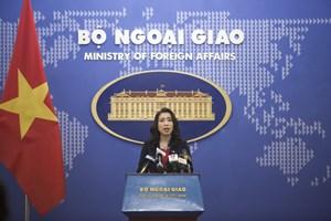 Hoạt động quân sự của Trung Quốc không liên quan đến vùng biển Việt Nam