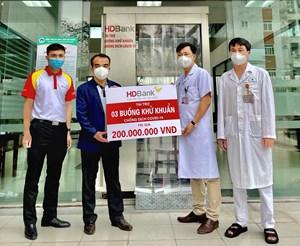 HDBank trao tặng hàng tỷ đồng hỗ trợ Hải Dương phòng chống dịch