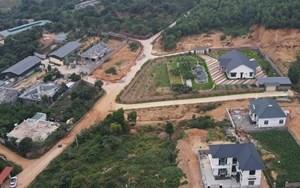 Xử lý nghiêm cán bộ, đảng viên xây biệt thự trên đất công ở Vĩnh Phúc