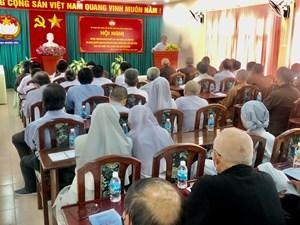 Khánh Hòa: Phổ biến tuyên truyền Nghị quyết Đại hội Đảng lần thứ XIII và bầu cử Quốc hội khóa XV và HĐND các cấp