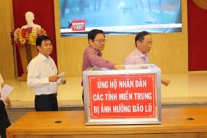 Khánh Hòa phát động ủng hộ đồng bào miền Trung bị lũ lụt