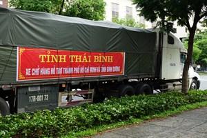 Thái Bình hỗ trợ 3 tỷ đồng cho người dân TP HCM