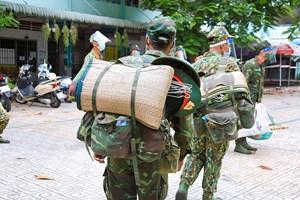 Quân đội chưa rút quân, tiếp tục hỗ trợ TP HCM kiểm soát Covid-19