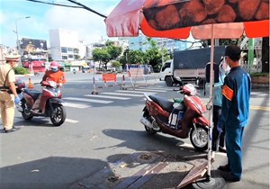 Nhiều quận, huyện của TP Hồ Chí Minh xin được 'bình thường mới'