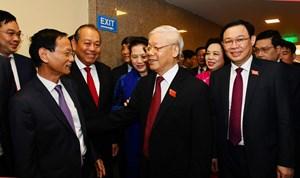 Khai mạc Đại hội đại biểu lần thứ XVII Đảng bộ TP Hà Nội