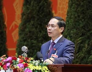 Đối ngoại phải phát huy vai trò tiên phong trong việc giữ vững môi trường hòa bình, ổn định