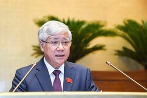 Báo cáo tổng hợp ý kiến, kiến nghị của cử tri và Nhân dân tại Kỳ họp thứ nhất, Quốc hội khóa XV
