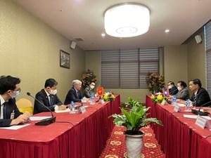 Đẩy mạnh mối quan hệ hợp tác giữa MTTQ Việt Nam và Mặt trận Lào xây dựng đất nước