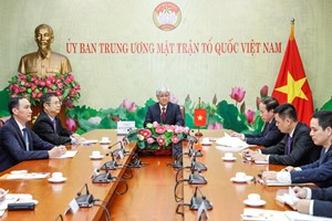 Tăng cường hợp tác giao lưu giữa Chính hiệp Trung Quốc và MTTQ Việt Nam