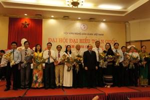 GS Lê Hồng Lý được bầu làm Chủ tịch Hội Văn nghệ dân gian Việt Nam