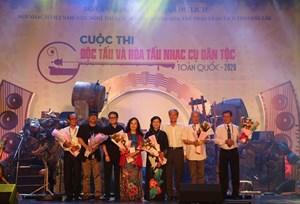 Khai mạc Cuộc thi Độc tấu và Hòa tấu nhạc cụ dân tộc toàn quốc 2020