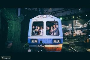 Sân ga và những chuyến tàu