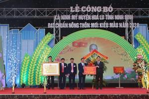 Xã đạt nông thôn mới kiểu mẫu được thưởng 1 tỷ đồng