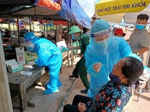 Thanh Hóa: Phát hiện ca mắc Covid-19 trong cộng đồng tiếp xúc khoảng hơn 100 người