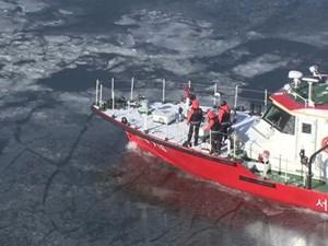 Hàn Quốc hứng chịu đợt lạnh -20 độ C, sông Hàn đóng băng dày 5 cm