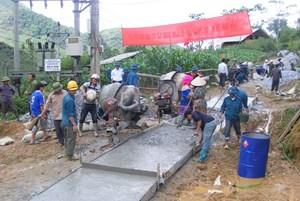 Xây dựng nông thôn mới ở Lào Cai