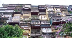 Hà Nội: Cải tạo thí điểm 5 chung cư cũ trong năm 2021