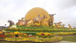 Bình Định: Khánh thành biểu tượng linh vật Tân Sửu - 2021