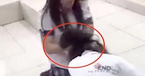 TP HCM: Nữ sinh lớp 10 đánh bạn dã man ngay giữa lớp học