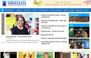 Ra mắt trang điện tử quảng bá văn học Việt Nam