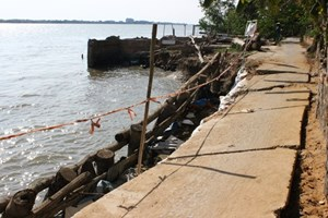 Khai thác nước ngầm gây sụt lún Đồng bằng sông Cửu Long