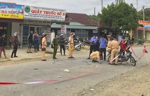 2 xe máy đấu đầu một người chết, hai người bị thương