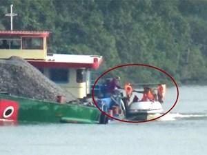 Bình Dương: Nghi vấn 'làm luật' trên sông, 3 cảnh sát bị tạm đình chỉ công tác