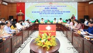 Điều chỉnh cơ cấu đại biểu Quốc hội khóa XV của thành phố Hà Nội