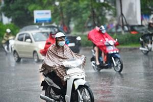 Miền Bắc có mưa dông, nguy cơ xảy ra lũ quét, sạt lở đất và ngập úng
