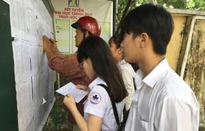 Thi vào lớp 10 tại Hà Nội: Chưa có phương án thi nhiều đợt