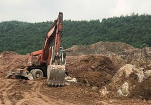Vụ khai thác khoáng sản trái phép tại xóm Trại Cau (Thái Nguyên): Sở Tài nguyên & Môi trường vào cuộc