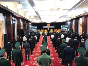 TP HCM: Tổ chức trọng thể Lễ viếng nguyên Tổng Bí thư Lê Khả Phiêu