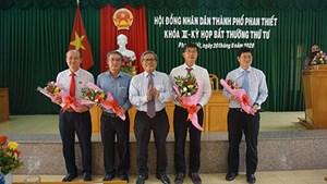 Phó Bí thư Thành ủy giữ chức Chủ tịch TP Phan Thiết
