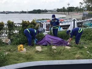 Điều tra nguyên nhân tử vong nam thanh niên trôi trên sông Sài Gòn