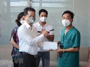 52 y, bác sỹ Bình Định và Thừa Thiên-Huế 'rút quân' khỏi Đà Nẵng