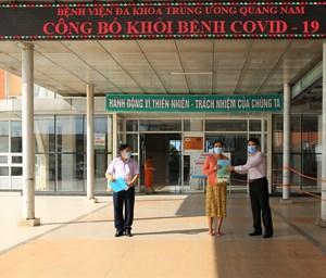 Quảng Nam: Thêm 10 bệnh nhân Covid-19 khỏi bệnh, xuất viện