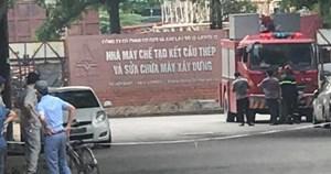 Hà Nội: Nổ lớn tại Khu công nghiệp Phú Thị, 3 người thương vong