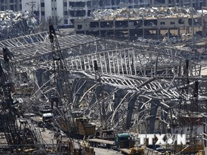 Quân đội Liban phát hiện thêm gần 4 tấn amoni nitrat ở cảng Beirut