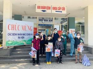 Thêm 14 bệnh nhân Covid-19 ở Đà Nẵng xuất viện