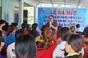 Phú Yên: Ra mắt mô hình hội phụ nữ '5 không, 3 sạch'