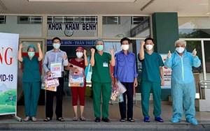 Đoàn y bác sĩ TP HCM rời Đà Nẵng