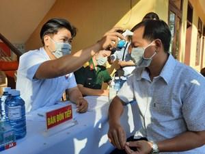 Quảng Nam duy trì chốt kiểm soát nhất là vùng giáp ranh Đà Nẵng