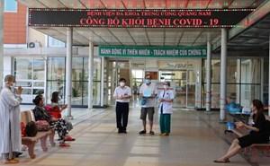 Quảng Nam chỉ còn 25 bệnh nhân dương tính với Covid-19