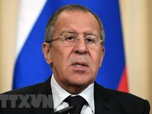 Ngoại trưởng Nga: SCO góp phần hình thành thế giới đa cực mới
