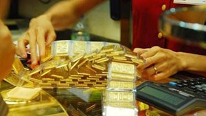 Giá vàngxấp xỉ 57 triệu đồng/lượng