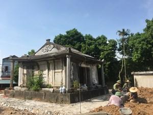 Phát hiện lăng mộ đá thời Lê Trịnh